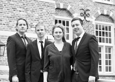 Jasper, Elja, Thomas, Floris-Jan