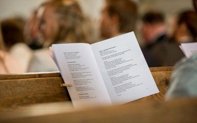 De opbouw van de liturgie tijdens de kerkdienst
